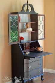 Secretary Desk Cabinet by Mary Beth U0027s Place My Obsession With Secretary Desks Part Two