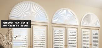 blinds shades u0026 shutters for arched windows distinctive window