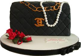 classic chanel handbag kimboscakes novelty birthday
