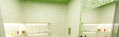 plain bathroom tiles background vector in four color schemes by