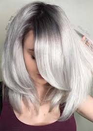 how to blend in gray roots of black hair with highlig 85 silver hair color ideas and tips for dyeing maintaining your