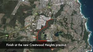 Crestwood Map Googik Heritage Walking Track Sponsored By St Columba Anglican