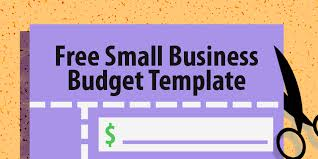 templates for business budgets free small business budget template capterra blog