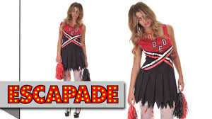 zombie cheerleader halloween costume halloween fancy dress