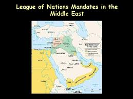 middle east map changes wwi territorial changes