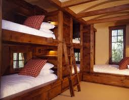 Bunk Beds Built Into Wall Terrific Built In Bunk Bed 25 Gorgeous Built In Bunkbeds