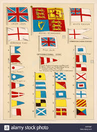 Similar Flags Some Of The Signal Flags Of Royal Navy Including The Royal Stock