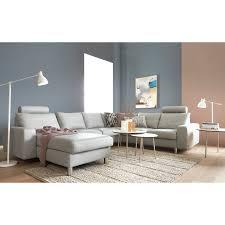 stressless canape 2 places cuir stressless e200 hjørnesofa med chaiselong i indbydende design med