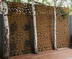 awesome garden wall art metal iron trellises for outdoor walls