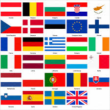 all flags of the european union icons creative market