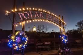 christmas lights train ride polar express train ride near denver is amazing