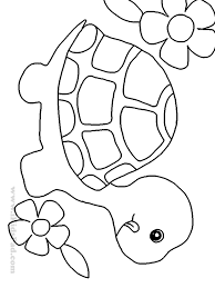cute turtle coloring pages olegandreev me