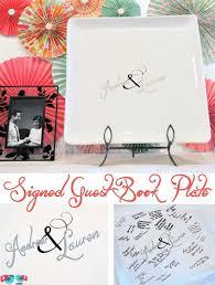 guest book platter 25 creative guestbook ideas hative