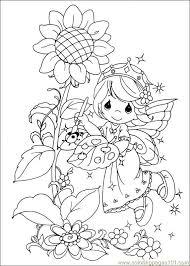 precious moments 42 coloring free precious moments coloring