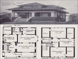 extremely creative 7 vintage california bungalow house plans