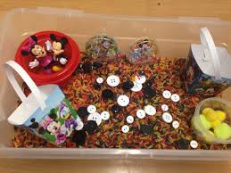 Mickey Mouse Activity Table Mickey Mouse Sensory Bin And Busy Box By Sensationalsenses On Etsy