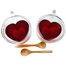 heart shaped items heart shaped tea cups insulated clear glass tea cup 2