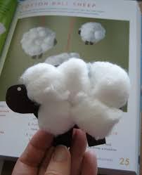 martha stewart crafts for kids cotton ball sheep craft critique
