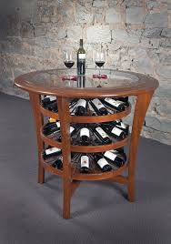 Wine Cellar Bistro - hand crafted bistro table by revel custom wine cellars
