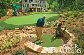 Backyard Golf Hole by Onelawn Artificial Grass Golf And Putting Greens For Your