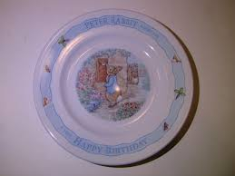 wedgwood rabbit wedgwood rabbit birthday plate beatrix potter greedy lobster