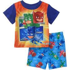 pj masks ap toddler boys licensed sleepwear walmart