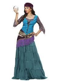 gypsy fortune teller halloween costume fabulous fortune teller gypsy women u0027s costume