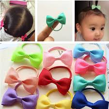 baby hair ties aliexpress buy 10 pcs lot solid dot candy color elastic