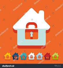 House Flat Design by Flat Design House Stock Vector 189763178 Shutterstock