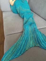 chic quality mermaid design blanket for kids in sammydress com