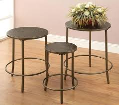 ideal and stylish metal accent table home design by john