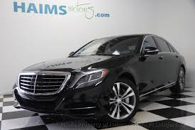 mercedes used s class 2015 used mercedes s class 4dr sedan s 550 rwd at haims
