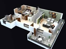 2 home plans fabulous 3d 2 floor house plan also plans ideas pictures on