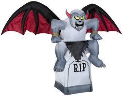 100 gemmy halloween inflatable haunted house amazon com