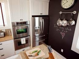 Paint Ideas For Kitchens How To Paint A Kitchen Chalkboard Wall How Tos Diy