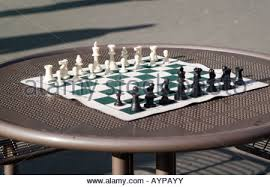 how to set up chess table chess pieces set up on board stock photo 11301403 alamy