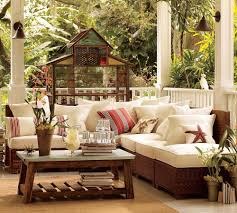 amazing porch room design ideas with rustic wicker patio furniture amazing porch room design ideas with rustic wicker patio furniture and grey granite coffee table top