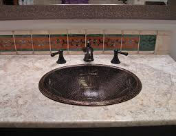 this dragonfly design large oval copper bath sink is the rio