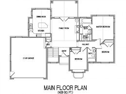 House Plans For Wide Lots Small Lake House Plans With View Homeca