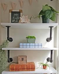 How To Make A Pipe Bookshelf Diy Shelves