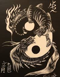 the 25 best dragon tiger tattoo ideas on pinterest dragon and
