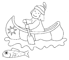 animations 2 coloring pages native americans