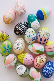 egg decorations 2018 easter egg decorating ideas from designers and illustrators
