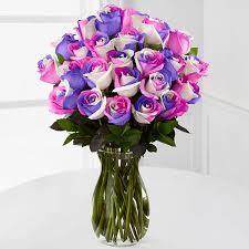 rainbow roses u0026 rainbow flowers roses near me ftd