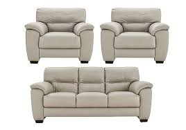 Leather 3 Seater Sofas Shades Leather 3 Seater Sofa Pair Of Armchairs Multi Buy Saver