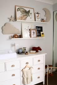 Changing Table Shelves by Harvey Bebe U0027s Nursery U2013 Miss Kyree Loves