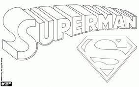 superman symbol coloring free download