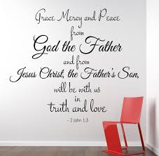 48 wall decal quotes bible verse wall decal quotes christian wall decal quotes 2 john 1 3 scripture christian wall decal