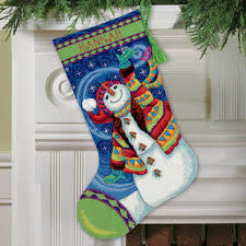 needlepoint christmas dimensions happy snowman christmas needlepoint kit 71