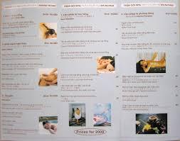 free massage brochure template